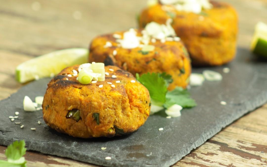 Sweet Potato Satay Patties