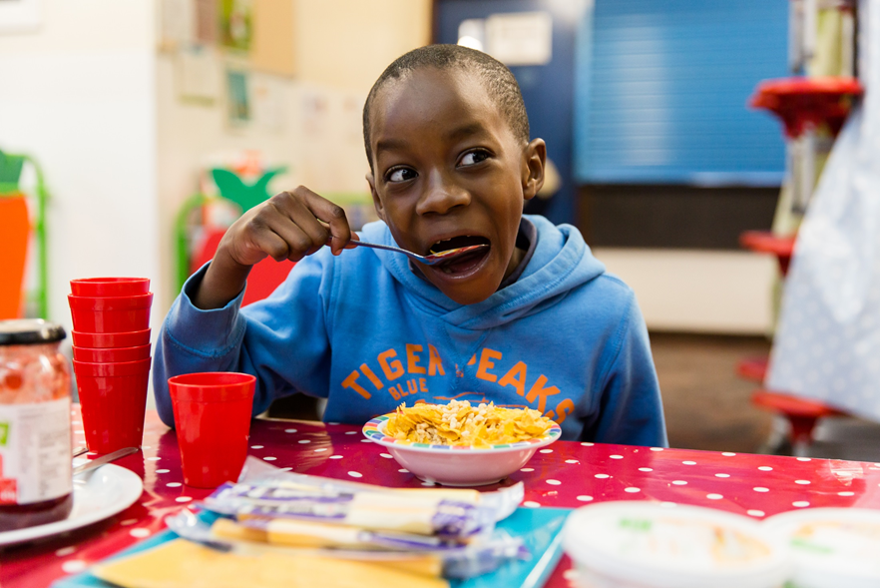 Supporting FareShare's mission