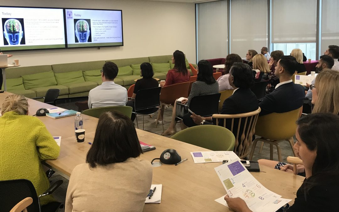 Workplace nutrition workshops