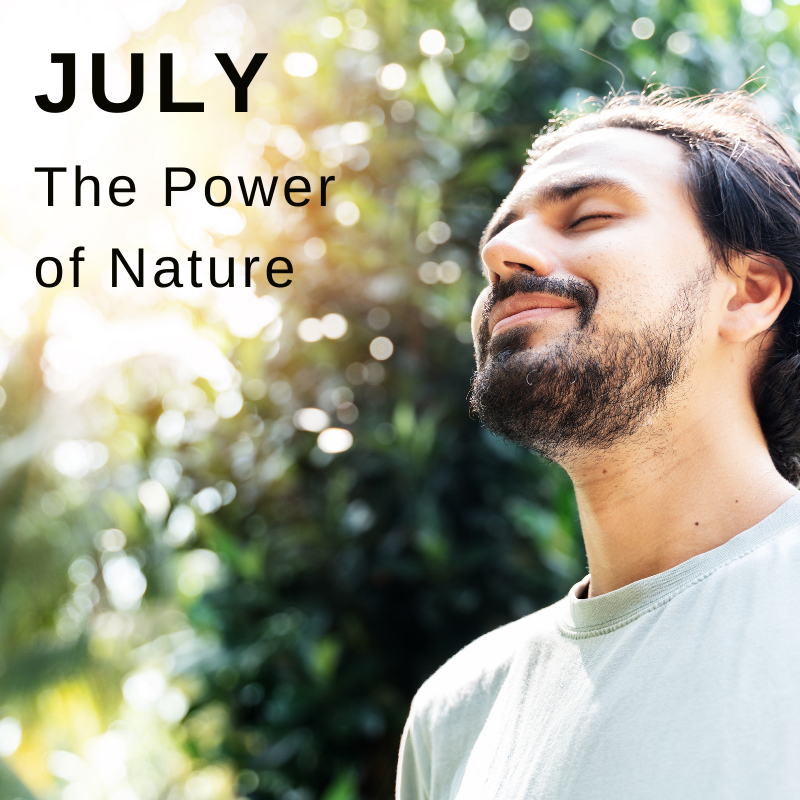 Wellbeing campaign July power of nature
