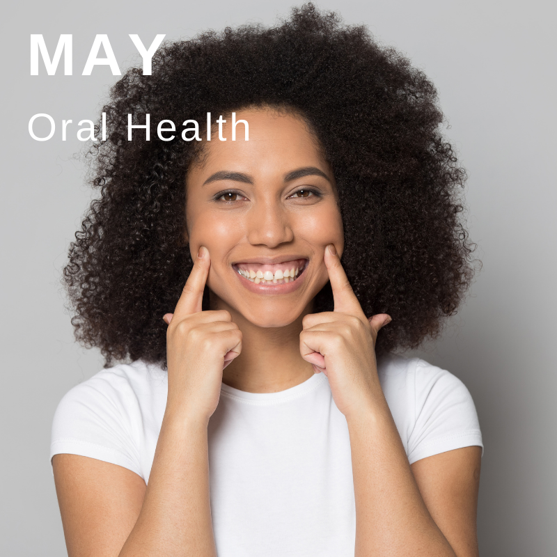 Wellbeing campaign May - oral health