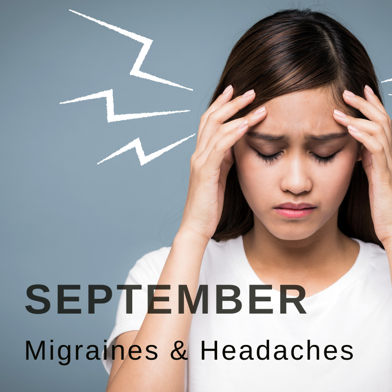 Wellbeing campaign September migraines and headaches